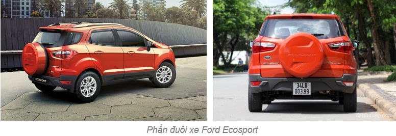 ford ecosport than xe